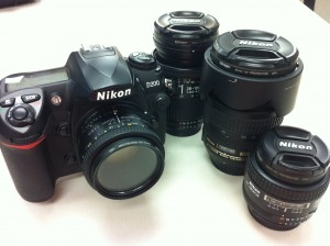 Nikon D200 and Nikkor Lenses