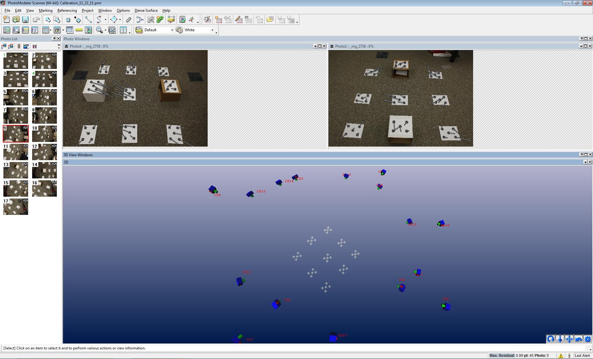 Software geospatial modeling visualization for Photo modele