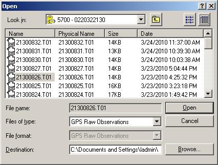 Convert Trimble T01 File To Dat - writerfasr
