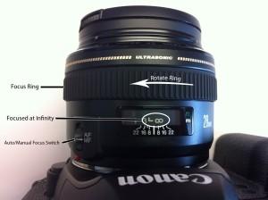 Canon Lens Focus Ring