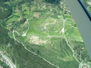 Low Resolution Oblique Aerial Image of Saqsaywaman, Cuzco, Peru
