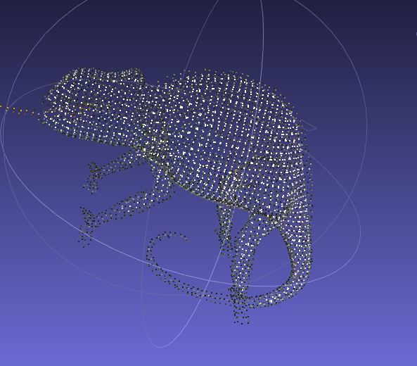 Point Cloud To Mesh Python