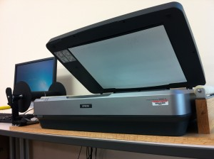 Epson 10000 XL Large Format Scanner, CAST GMV