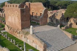 Close-range photogrammetry example from Ostia Antica, Italy. CAST, Uark