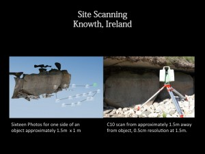 C10 and Photoscan data collection at Knowth, Ireland