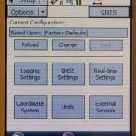 TerraSync GNSS Settings