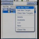TerraSync Set Nav Target